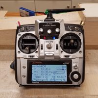 Futaba 10CAG 2.4GHz Transmitter and Charger